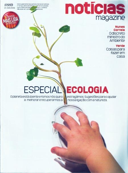 Capa da Notícias Magazine de 07/06/2009
